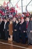 Convenção dos FILHOTES DE CACHORRO JS do SPS Fotografia de Stock