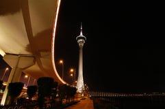 Convención de la torre de Macau Foto de archivo libre de regalías