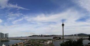 Convención de la torre de Macau y centro de hospitalidad fotografía de archivo libre de regalías
