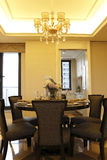 Convenient Dining - room in the apartment Royalty Free Stock Photography