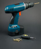 Convenient and reliable screwdriver screwdriver Royalty Free Stock Photo
