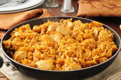 Convenient skillet dinner Royalty Free Stock Image