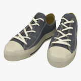 Convenient for sports mens sneakers. Presented on a white. 3D Illustration. Convenient for sports mens sneakers. Presented on a white background. 3D Illustration Stock Photo