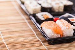 Convenient sushi Stock Photography