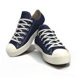 Conveniente para as sapatilhas dos homens dos esportes Apresentado em um branco ilustração 3D Imagens de Stock Royalty Free