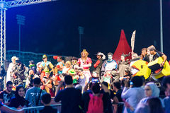 Convenio 2015 de IGN Bahrein Foto de archivo libre de regalías