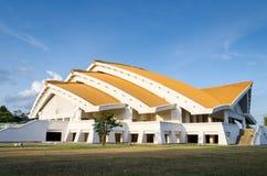 Convenio pasillo de oro Imagenes de archivo