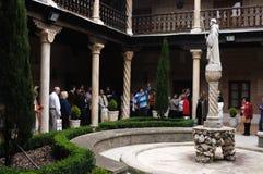 Convent. Alcala de Henares. Spain Royalty Free Stock Image