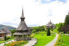 Convent Barsana Monastery, Maramures, Romania Stock Photos