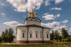 Convent. Beautiful places of Moscow suburbs Royalty Free Stock Images
