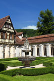 Convent of Bebenhausen Royalty Free Stock Images