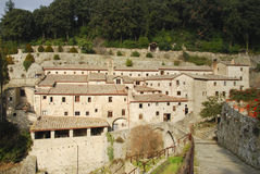 Convent The Celle. In Cortona (Tuscany - Italy Royalty Free Stock Images