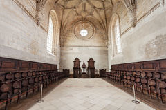 Convent of Christ interior. The Convent of the Order of Christ interior, Tomar, Portugal Royalty Free Stock Photography