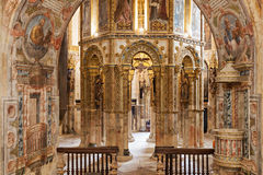 Convent of Christ interior. The Convent of the Order of Christ interior, Tomar, Portugal Stock Photography