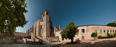Convent of Christ in Tomar Stock Images