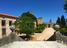 Convent of Christ in Tomar stock photography