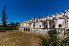 Convent of Christ in Tomar, Portugal. Stock Photo