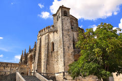 Convent of Christ in Tomar, Portugal Stock Images
