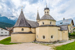 Convent church of San Candido Royalty Free Stock Photo