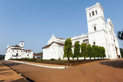 Convent, Church of St Francis of Assiisi and Se Cathedral in Old Royalty Free Stock Images