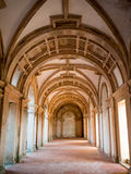 Convent cloister Royalty Free Stock Photography