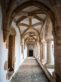 Convent cloister Royalty Free Stock Image