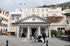 Convent Guard House in Gibraltar Stock Photography