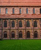 Convent inner yard Stock Photography