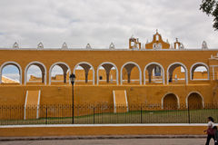 Convent in Izamal Yucatan Stock Photography