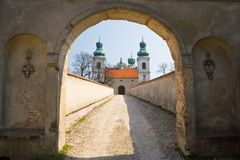 Convent of Kamedul, Cracow Stock Photo