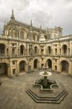 Convent of the Knights of Christ and the Templar Castle is a Unesco World Heritage Site founded by Gualdim Pais in 1160 AD, in Tom. Ar, Portugal Stock Photography