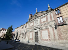 Convent of Las Descalzas Reales in Madrid Royalty Free Stock Images