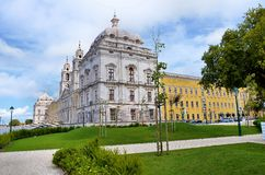 Convent of Mafra in Portugal Royalty Free Stock Photos