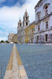 Convent of Mafra in Portugal Royalty Free Stock Photography