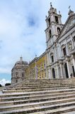 Convent of Mafra in Portugal Stock Images