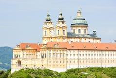 Convent Melk. In Lower Austria, Austria Stock Photo