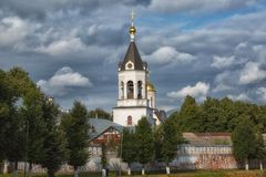 Convent of Nativity of Theotokos in Vladimir Stock Photography