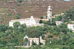 The convent near San Antonio on Corsica island Stock Image