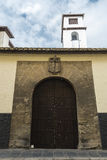Convent in the old town of Granada, Spain Stock Photo