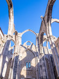 Convent of Our Lady of Mount Carmel in Lisbon, Portugal. Stock Image