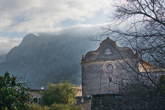Convent Sagrats Cors Soller Royalty Free Stock Images