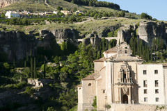 Convent of Saint Paul - Cuenca - Spain Stock Photos