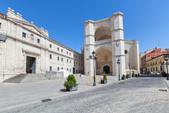 Convent of San Benito el Real, Valladolid Stock Photography