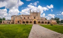 Convent of San Bernardino de Siena - Valladolid, Mexico. Convent of San Bernardino de Siena in Valladolid, Mexico Stock Images