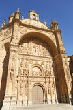 Convent of San Esteban in Salamanca Royalty Free Stock Images