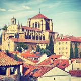 Convent of San Esteban in Salamanca Stock Photo