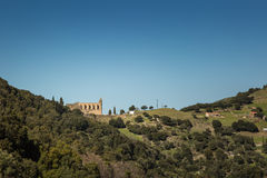 The convent of San Francescu near Castifao in Corsica Royalty Free Stock Photos