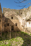 The convent of San Francescu near Castifao in Corsica Stock Photos