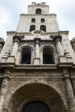 Convent San Francisco de Asis in Havana Royalty Free Stock Photos