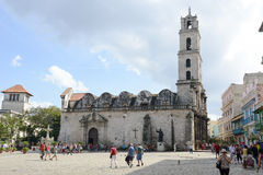 Convent San Francisco de Asis in Havana Royalty Free Stock Image